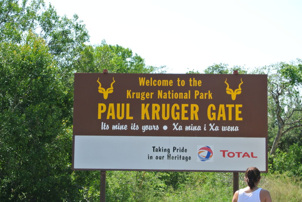 Paul Kruger gate into Kruger National Park