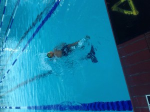 Backstroke swim team qv dolphins sport summer