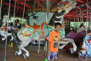my life such as it is central park carousel