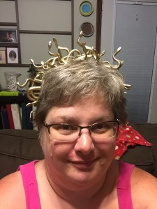 my life such as it is halloween 2015 medusa headpiece