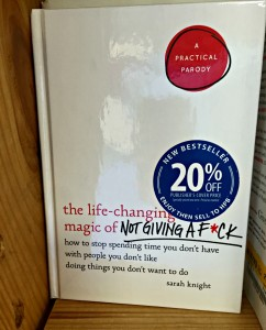 my life such as it is half price books the life-changing magic of not giving a fuck