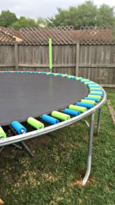 pinterest idea diy my life such as it is trampoline safety pool noodles