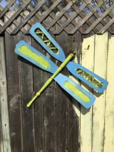 dragonfly yard art upcycling recycling my life such as it is pinterest diy