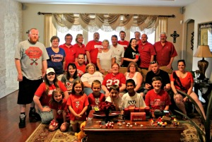 university of wisconsin tailgate party football