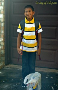 my life such as it is 1st day of 5th grade
