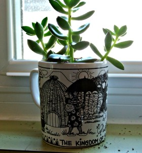 my life such as it is swaziland mug succulent