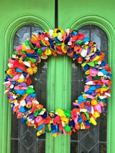 pinterest diy balloon wreath project success my life such as it is